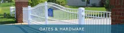 Gates Hardware Coastal Aluminum Fencing