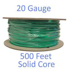 Petsafe Extra In Ground Fence Boundary Wire 20g 500 Feet Copper Solid Core 729849000018 Ebay