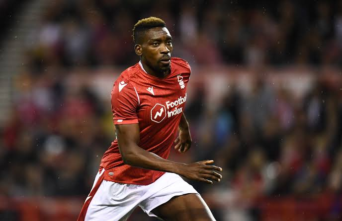 Image result for sammy ameobi nottingham forest""