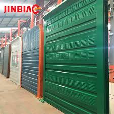 Removable Plastic Privacy Panels Noise Barrier Fence Wind Barrier Jinbiao