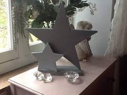decorative wooden star