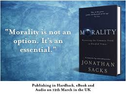 "Rabbi Sacks on Twitter: ""My new book 'Morality: Restoring the ..."