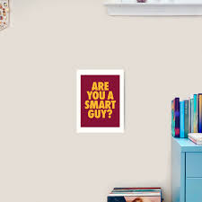 Are You A Smart Guy Lebron James Quote Art Print By Theveeboo Redbubble