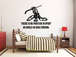 Ice Hockey Wall Decal Hockey Player Wall Decal Hockey Etsy In 2020 Wall Decals Star Wars Wall Decal Girls Wall Stickers