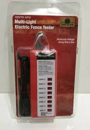 American Farm Works Multi Light Electric Fence Tester Rsvt8 Afw Ship For Sale Online Ebay