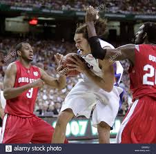 Apr 02, 2007 - Atlanta, GA, USA - JOAKIM NOAH pulls down rebound ...