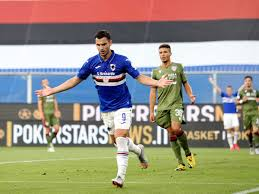 Sampdoria: Bonazzoli scores with another flying volley in Sampdoria's win |  Football News - Times of India