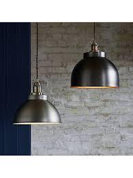 large pendant ceiling light pewter