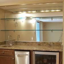 shelves mirror glass furniture kitchen