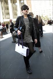 The Urban Vogue: At Lincoln Center during MB Fashion Week Sept 2010 ……  Manhattan NYC