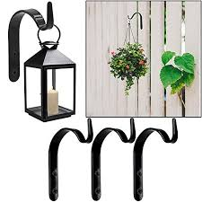 Intvn 4 Wrought Iron Wall Hooks Brackets Buy Online In Pakistan At Desertcart