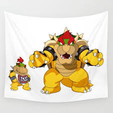 Bowser And Bowser Jr Wall Tapestry By Vcook10 Society6