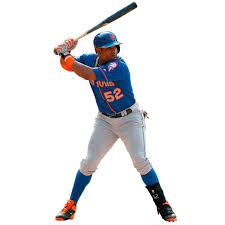 Yoenis Cespedes New York Mets Fathead Life Size Removable Wall Decal