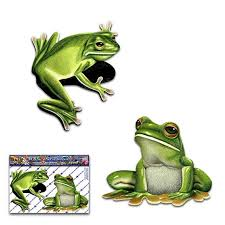 Green Tree Frog Small Animal Sticker Decal Pack For Car Etsy