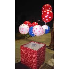 send surprise balloon box free