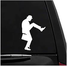 Amazon Com Ministry Of Silly Walks Monty Python Vinyl Vehicle Sticker Arts Crafts Sewing