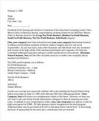 congratulations letter template 12