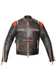 biker motorcycle leather jacket