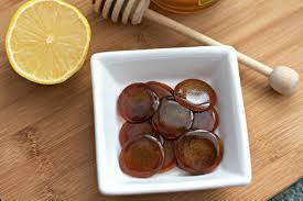 honey lemon ginger cough drops tasty