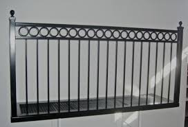 Wrought Iron Balconies Ring Band Railing Balcony From Www Deciron Com They Ship Nationwide Iron Balcony Balcony Railing Design Iron Balcony Railing