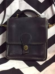 vintage coach bag leather soft