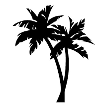 Best Offer F3d44e Palm Tree Vinyl Decal Tropical Decals Vinyl Car Stickers Art Bumper Tree Decor White Black L594 Cicig Co