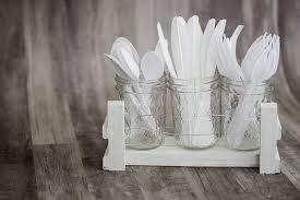 mason jar utensil organizer the