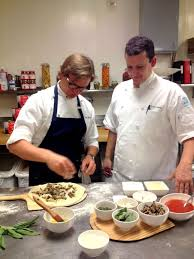 Chef Sven Mede and Chef Jason Bowlin, pizza masters. | Cuisine, White cafe,  Tasting