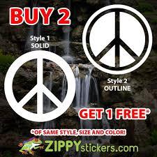 Peace Sign Vinyl Decal Sticker Peace Love Happiness Hippie Peace Sign 60 S Peace Sign Decal Free Love Car Yeti Laptop Decal Sticker Vinyl Signs Laptop Decal Stickers Laptop Decal