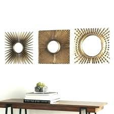 mirrors wall art round for walls