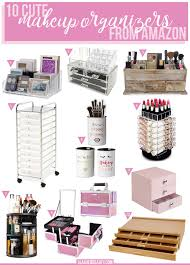 10 cute makeup organizers to on