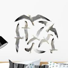 Seagulls Wall Decal Sticker Set Wallmonkeys Com