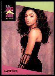 1991 Pro Set Super Stars Musicards Karyn White #104 on Kronozio