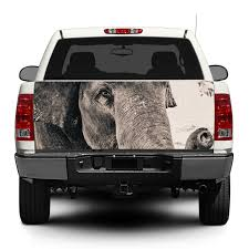 Product Elephant Wild Animal Africa Decal Sticker Wrap Pick Up Truck Suv Car