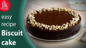 eggless biscuit cake recipe without