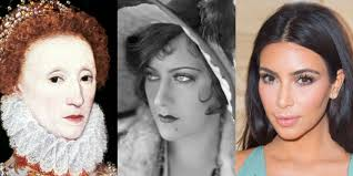 history of mascara eyelashes through