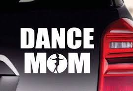 Dance Mom Car Truck Bumper Sticker Dance Mom Vinyl Decal Etsy
