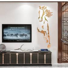 new arrival horses living room acrylic