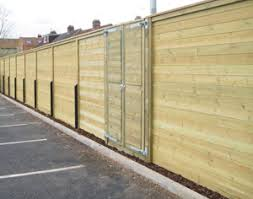 Acoustic Fences And Noise Barriers