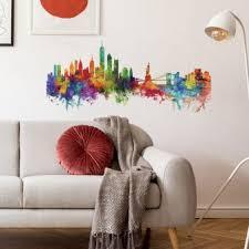 New York Giants Wall Islanders Skyline Decal Street Design City Sticker Vamosrayos