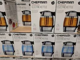 chefman electric gl kettle