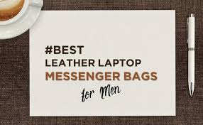 leather messenger bags for men in india