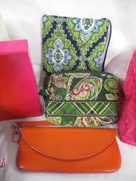cosmetic bags vera bradley chloe daisy