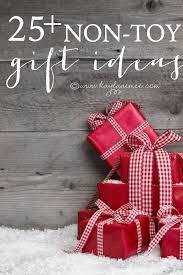25 non toy gift ideas
