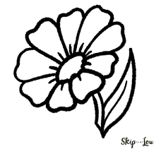 how to draw a flower easy tutorial