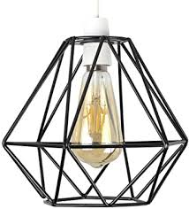 basket cage ceiling pendant light shade