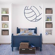 Corner Volleyball Wall Decal Volleyball Wall Sticker