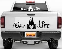 Bogo Walt Disney Mickey Castle Life Car Window Decal Sticker Character Vinyl Van Auto Parts And Vehicles Car Truck Graphics Decals Magenta Cl