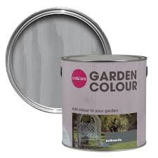 Colours Garden Anthracite Matt Wood Paint Departments Diy At B Q