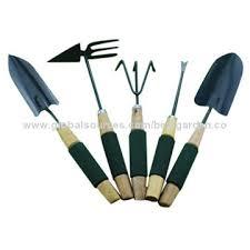 china wood sleeve garden hand tools set